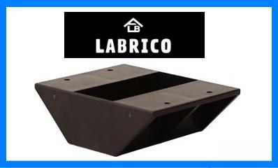 LABRICO(ラブリコ) 2×4 棚受ダブル ブロンズ(DXB-3)