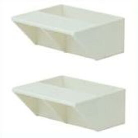 LABRICO(ラブリコ) 2×4 棚受シングル オフホワイト(DXO-2) 2個入り