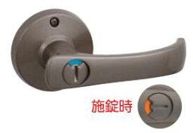 川口技研 取替TKレバー 表示錠 GIKEN-DT1-4M-MB ブラウン色 バックセット60ミリ 取替用レバーハンドル