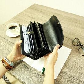 diyplus カードたくさん入る長財布レディース レディース 19春夏 本革、カード大容量収納モデル ブラック、金具ゴールド/シルバー マチ4.5cm×横18.5cm×高さ10.5cm 100bkor