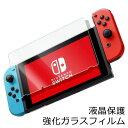 【送料無料】 Nintendo Switch 保護フィルム ガラスフィルム 強化ガラス キズ防止 指紋防止 飛散防止 なめらか触感 エ…