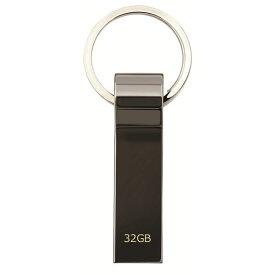 USBメモリー 32GB おしゃれ 衝撃に強い 超高速 USB3.0 USBフラッシュメモリー キャップレス メタル素材 キーリング付き 外部メモリー 記録用メモリー 超高速データ転送 USB2.0 USB1.1 互換 ポータブルデバイス Windows Mac Linux