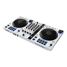 Pioneer DJ DDJ-FLX6-W(限定ホワイトモデル)【PCスタンド & 初心者向けチュートリアル動画プレゼント!】 【あす楽対応】【土・日・祝 発送対応】【ikbp1】