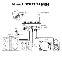 NumarkSCRATCH(SeratoDJPro対応2チャンネルスクラッチミキサー)【予約商品/6月27日発売予定】