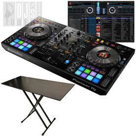 Pioneer DJ DDJ-800 + DJT-29 DJテーブルセット (今なら2大特典プレゼント!)【台数限定 Power DJ'sオリジナルチュートリアルビデオ feat.DJ HAL プレゼントキャンペーン】