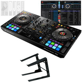 Pioneer DJ DDJ-800 + LT100B PCスタンドセット (今なら2大特典プレゼント!)【台数限定 Power DJ'sオリジナルチュートリアルビデオ feat.DJ HAL プレゼントキャンペーン】