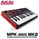 AKAI professional(アカイ) MPK mini MK2