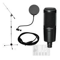 audio-technicaAT2020ビギナーズ・レコーディング・マイクセットB