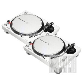 【カートリッジケース プレゼント!】 Pioneer DJ PLX-500-W TWIN SET