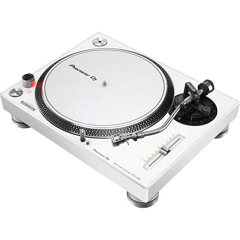 【レコードクリーニングクロス プレゼント!】 Pioneer DJ PLX-500-W