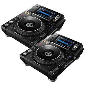 Pioneer DJ XDJ-1000MK2 TWIN SET 【専用保護カバープレゼント!】