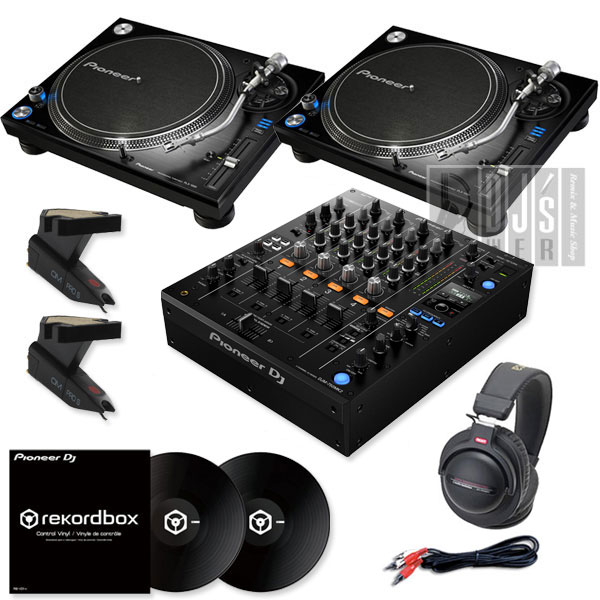 Pioneer DJ PLX-1000 + DJM-750MK2 DVS SET