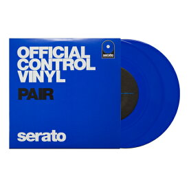 "7"" Serato Control Vinyl Performance Series [BLUE]【7インチ盤2枚セット】"