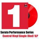 "Serato 12"" Performance Series Control Vinyl Single [Red] 1LP"
