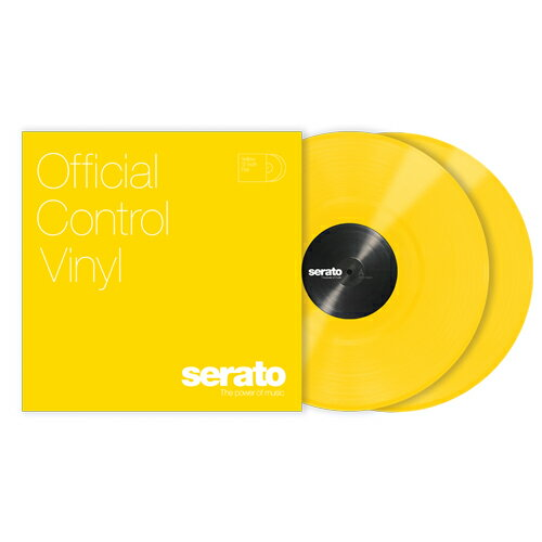 Serato Control Vinyl Performance Series [YELLOW]【2枚セット】