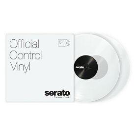 Serato Control Vinyl Performance Series [CLEAR]【2枚セット】
