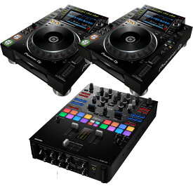 Pioneer DJ (パイオニア) CDJ-2000NXS2+DJM-S9【EXFORM製 RCAケーブルプレゼント!】 【ikbp1】