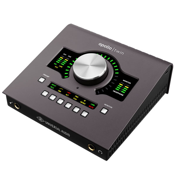 "Universal Audio APOLLO TWIN MKII (MK2) / QUAD 【数量限定Thunderbolt2ケーブルサービス】【6/30までの期間限定!Universal Audio ""Apollo Twin Platinum Vocal""キャンペーン】【p10】"