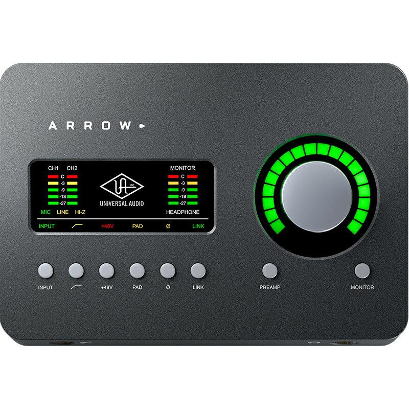 Universal Audio Arrow(アロー)※Thunderbolt 3ケーブルは別売 【期間限定 Desktop Platinum Vocal Promotion】