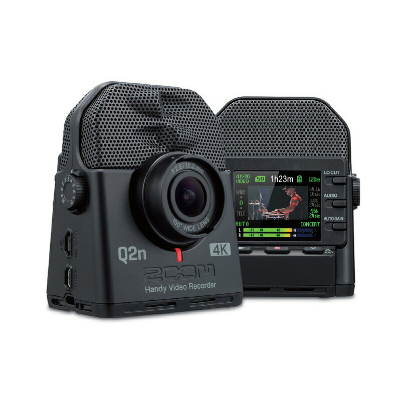 ZOOM Q2n-4K (Handy Video Recorder) 【P6】
