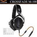 V-MODA Crossfade M-100 Matte Black【マットブラック】 【国内正規品】【プライスダウン】