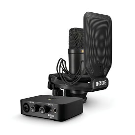 RODE NT1 + AI-1 コンプリートスタジオ キット(NT1/AI1KIT)