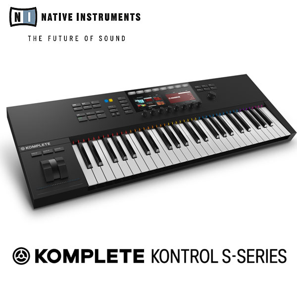 Native Instruments KOMPLETE KONTROL S49 MK2 【数量限定ラウドネスマキシマイザープラグインDeeMaxをプレゼント!】 【P10】