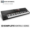 Native Instruments KOMPLETE KONTROL S61 MK2 【箱損アウトレット】