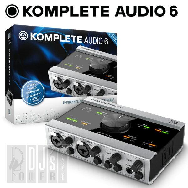 Native Instruments KOMPLETE AUDIO 6 【P5】