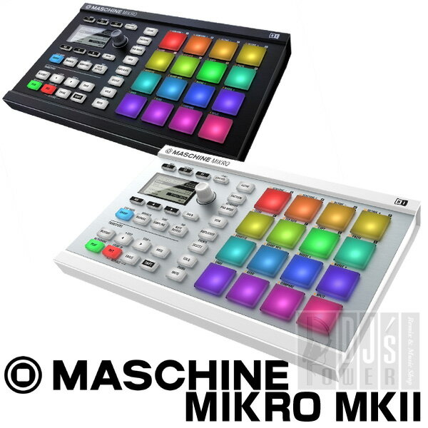 Native Instruments MASCHINE MIKRO MK2 【KOMPLETE SELECT無償ダウンロード可能】