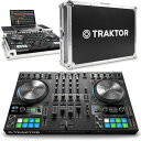 Native Instruments TRAKTOR KONTROL S4 MK3 + 専用フライトケースセット 【P10】
