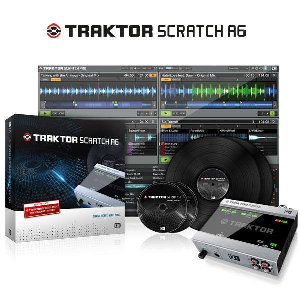 Native Instruments TRAKTOR SCRATCH A6 【P10】