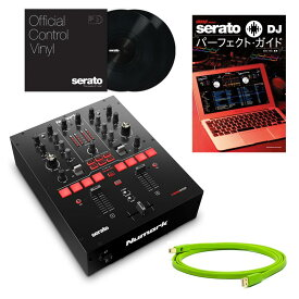 Numark SCRATCH+serato Control Vinyl×2枚組セット【今ならOyaide d+ USBケーブル1.0m&serato DJパーフェクト・ガイド無料プレゼント】