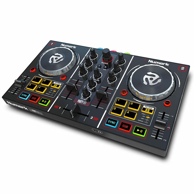 Numark Party Mix 【Virtual DJ LE インストールガイド(日本語)付属】