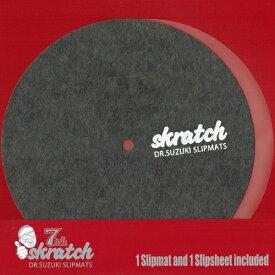 """Dr.Suzuki slipmats skratch 7"""" (スリップマット + スリップシート1枚組)"""