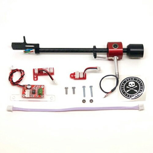 JDDPTA PORTABLE TURNTABLE TONE ARM KIT RED LIMITED EDITION (Numark PT-01 Scratch対応トーンアーム)