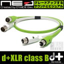 NEO Created by OYAIDE d+ XLR class B 【2.0m】 (XLR/メス-XLR/オス)