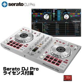 Pioneer DJ DDJ-SB3-S + Serato DJ Pro ライセンスセット 【Serato DJ Lite対応DJコントローラー台数限定モデル】【あす楽対応】【土・日・祝 発送対応】