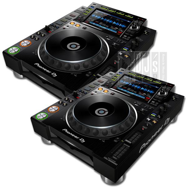 【4大特典プレゼント!】Pioneer DJ CDJ-2000 NXS2 TWIN SET