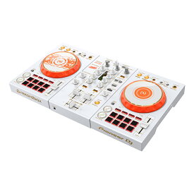 Pioneer DJ DDJ-400-HA 【数量限定!PCスタンド LT-100Bプレゼント!】【DJ初心者向け教則動画プレゼント】【djay接続ガイド付属】【あす楽対応】【土・日・祝 発送対応】