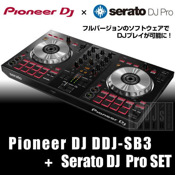 Pioneer DJ DDJ-SB3 + Serato DJ Proライセンス セット