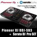 Pioneer DJ DDJ-SB3 + Serato DJ Proライセンス セット 【高品質 EXFORM製 USBケーブル プレゼント!】