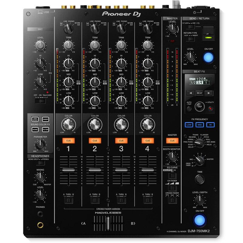Pioneer DJ(パイオニア)DJM-750MK2 【高品質EXFORM製 USBケーブル×1本プレゼント!】