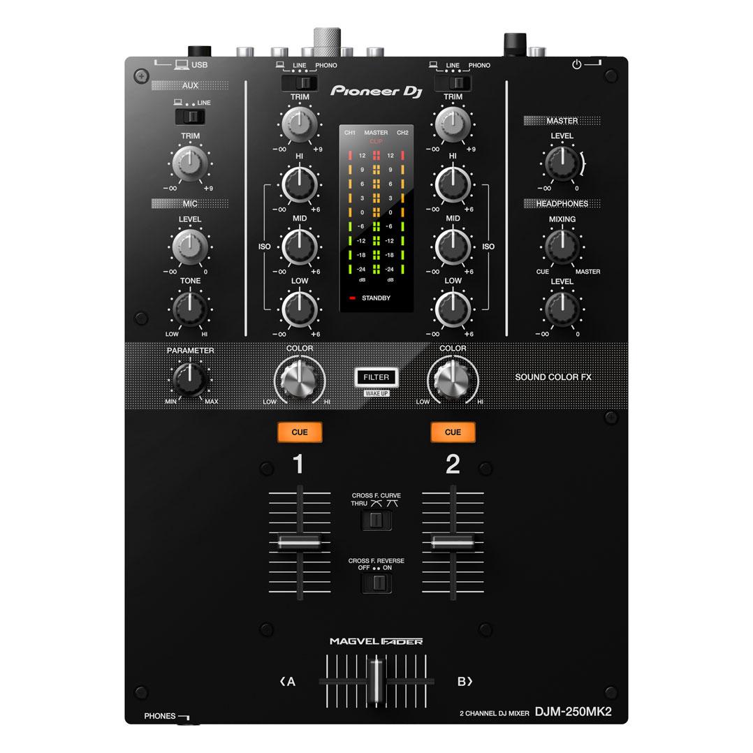Pioneer DJ(パイオニア)DJM-250MK2 【高品質 EXFORM製 USBケーブル プレゼント!】