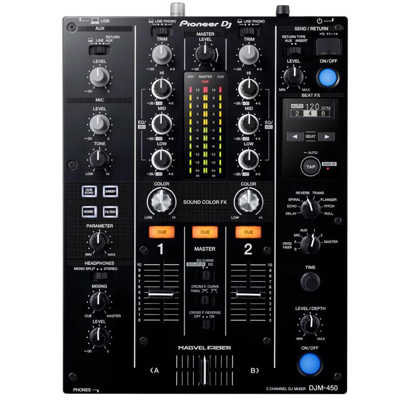 Pioneer DJ(パイオニア)DJM-450 【高品質 EXFORM製 USBケーブル プレゼント!】