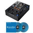 【選べる特典プレゼント!】 Pioneer DJ DJM-450 + コントロールヴァイナル RB-VD1-CB DVS SET
