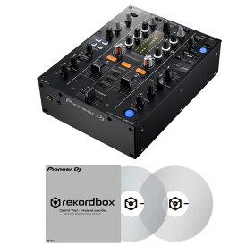 【選べる特典プレゼント!】 Pioneer DJ DJM-450 + コントロールヴァイナル RB-VD1-CL DVS SET