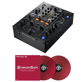 【選べる特典プレゼント!】 Pioneer DJ DJM-450 + コントロールヴァイナル RB-VD1-CR DVS SET