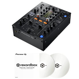 【選べる特典プレゼント!】 Pioneer DJ DJM-450 + コントロールヴァイナル RB-VD1-W DVS SET