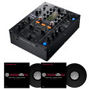Pioneer DJ DJM-450 + コントロールヴァイナルRB-VS1 DVS SET 【フラッシュメモリ16GBプレゼント!】